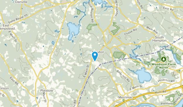 Newton, New Hampshire Map
