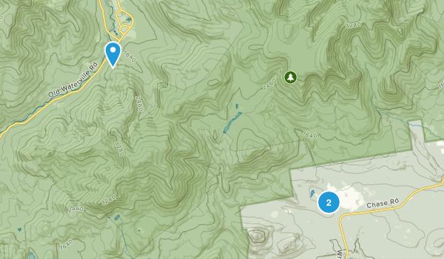 North Sandwich, New Hampshire Map