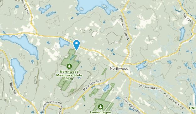 Northwood, New Hampshire Map