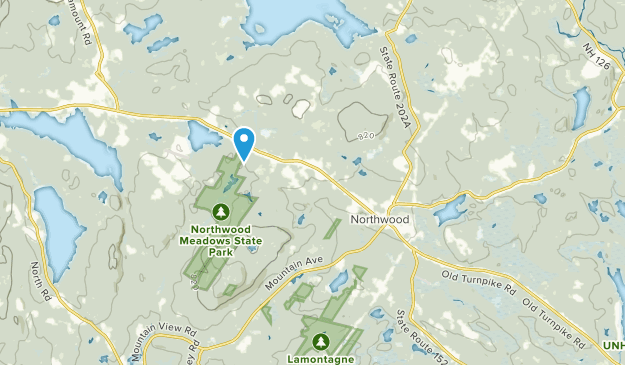 Best Trails near Northwood, New Hampshire | AllTrails on pawtuckaway state park map, northwood nh, greenfield state park map, silver lake state park map,