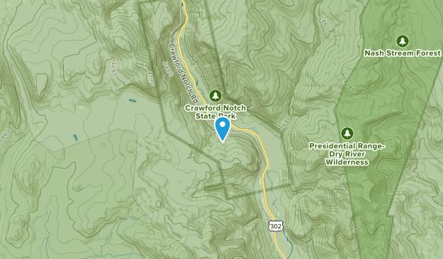 Notchland, New Hampshire Map