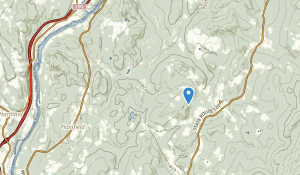 Plainfield, New Hampshire Map