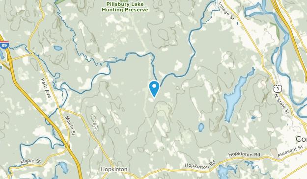 Riverhill, New Hampshire Map