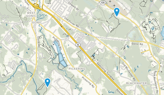 Rochester, New Hampshire Map