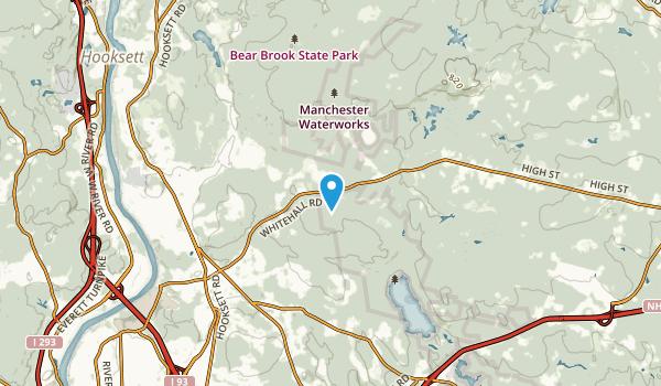 Rowes Corner, New Hampshire Map