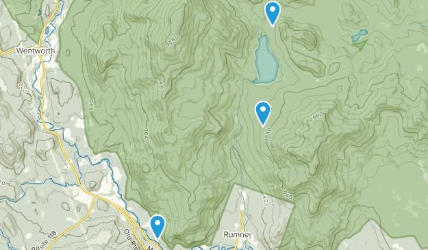 Rumney, New Hampshire Map