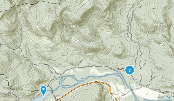 Shelburne, New Hampshire Map