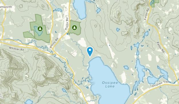 Silver Lake, New Hampshire Map