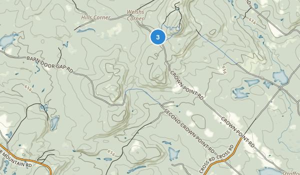 Strafford, New Hampshire Map