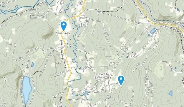 Swanzey, New Hampshire Map