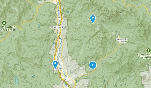 Thornton, New Hampshire Map