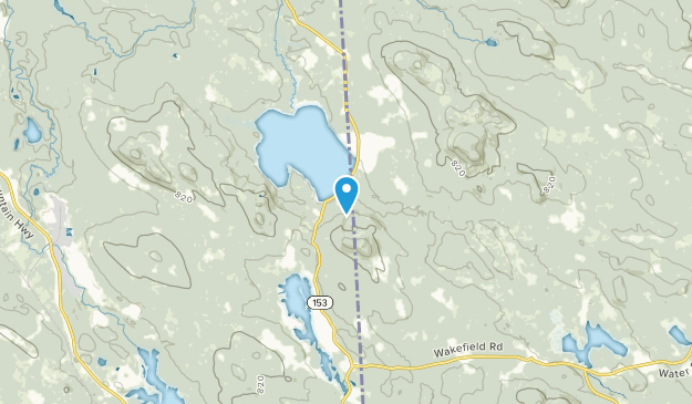 Wakefield, New Hampshire Map