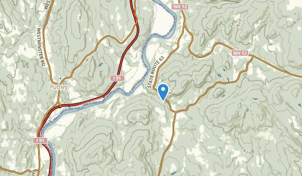 Westmoreland, New Hampshire Map