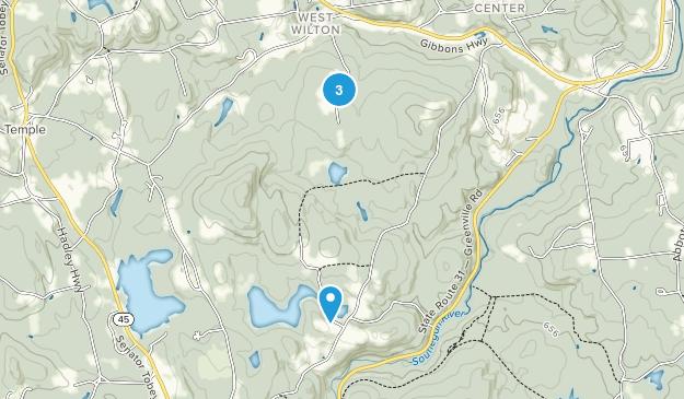 Wilton, New Hampshire Map