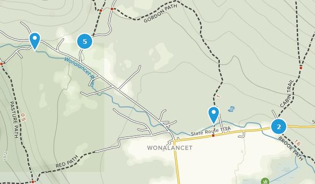 Wonalancet, New Hampshire Map