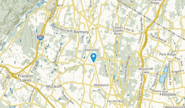Allendale, New Jersey Map