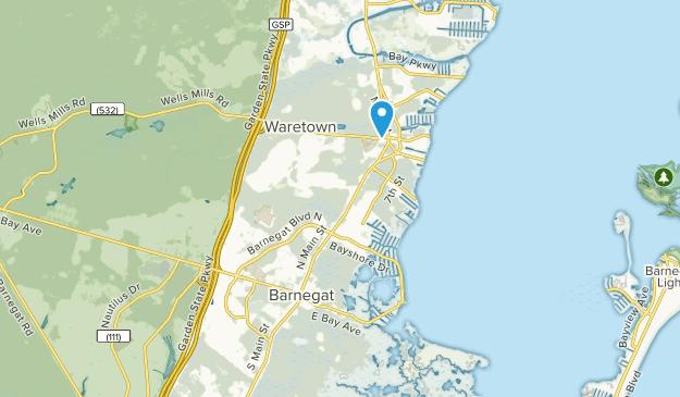 Barnegat, New Jersey Map