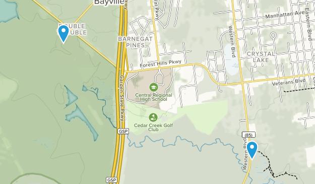 Bayville, New Jersey Map