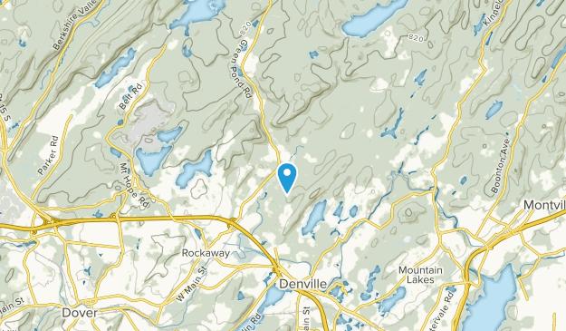 Beach Glen, New Jersey Map