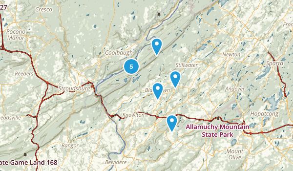 Blairstown, New Jersey Map