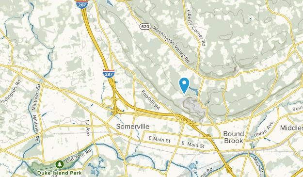 Bridgewater, New Jersey Map