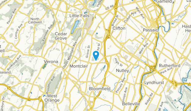 Brookdale, New Jersey Map