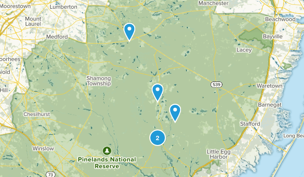 Chatsworth, New Jersey Map