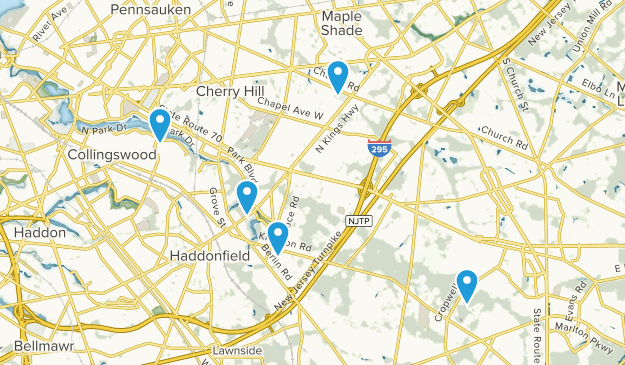 Cherry Hill, New Jersey Map