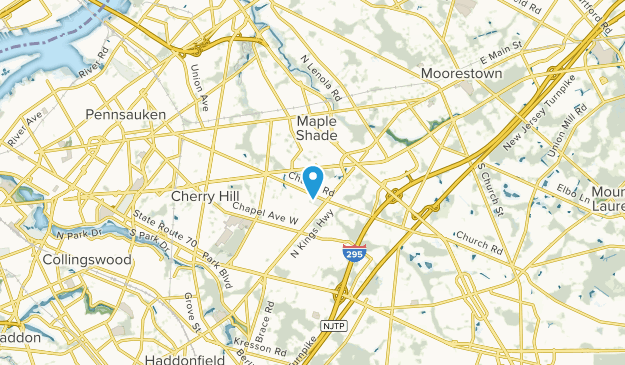 Cherry Valley, New Jersey Map
