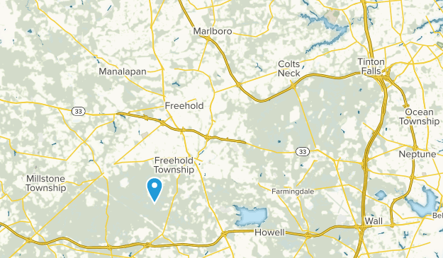 Colts Neck, New Jersey Map