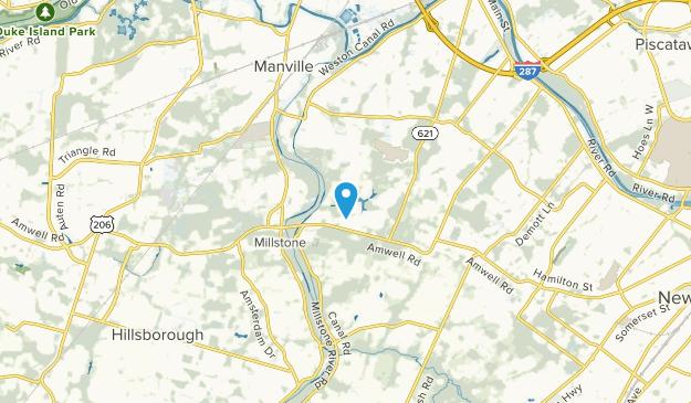 East Millstone, New Jersey Map