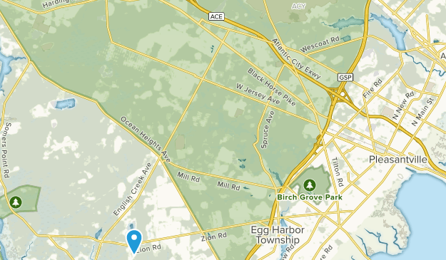 Egg Harbor, New Jersey Map