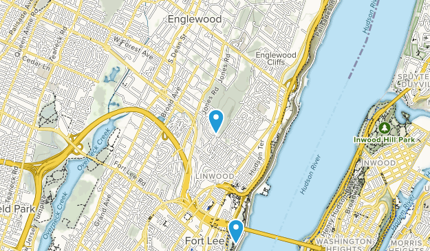 Englewood, New Jersey Map