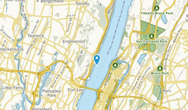 Englewood Cliffs, New Jersey Map