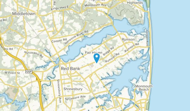 Fair Haven, New Jersey Map