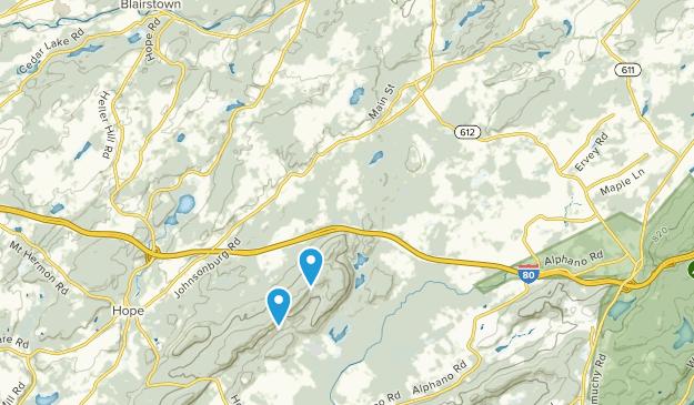 Frelinghuysen, New Jersey Map