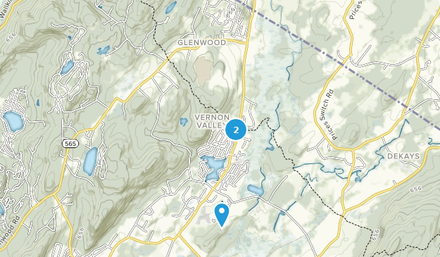 Glenwood, New Jersey Map