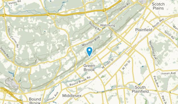 Green Brook, New Jersey Map
