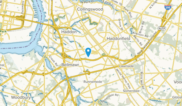 Haddon Heights, New Jersey Map