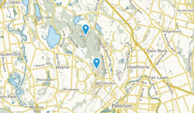 Haledon, New Jersey Map