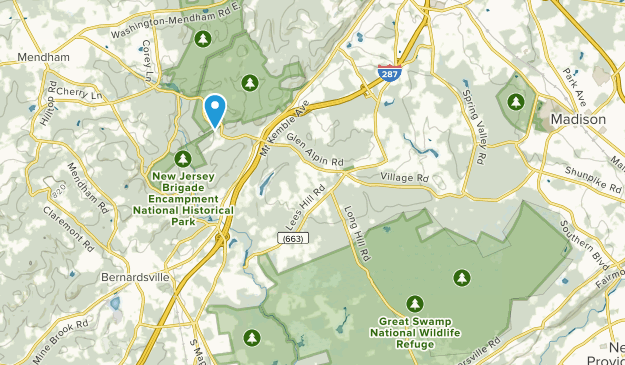 Harding Township, New Jersey Map