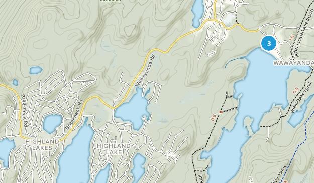 Highland Lake, New Jersey Map