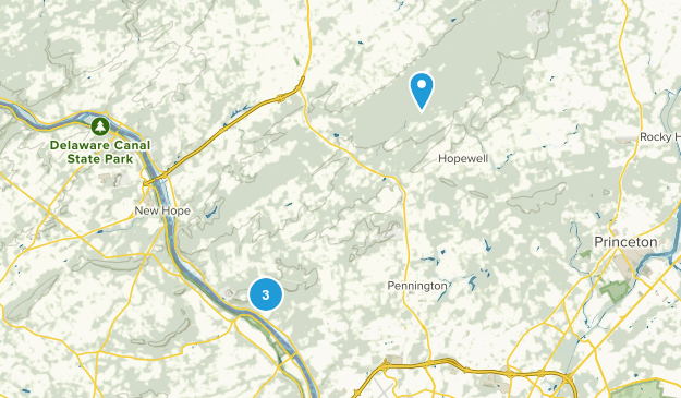 Hopewell, New Jersey Map