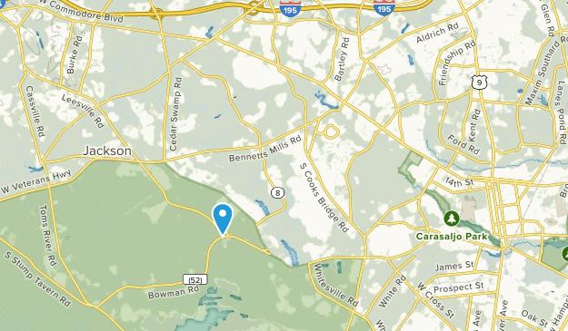 Jackson Township, New Jersey Map