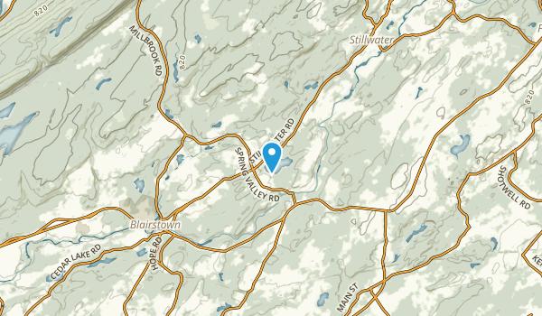Marksboro, New Jersey Map