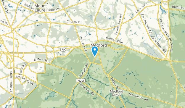 Medford, New Jersey Map