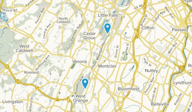 Montclair, New Jersey Map