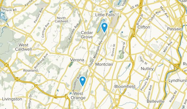 Caldwell New Jersey Map.Best Trails Near Montclair New Jersey Alltrails