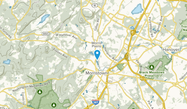 Morris, New Jersey Map