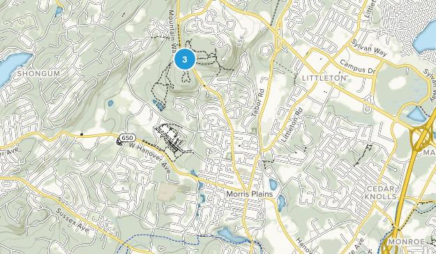 Morris Plains, New Jersey Map